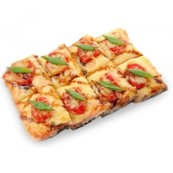 Суши-пицца с цыпленком